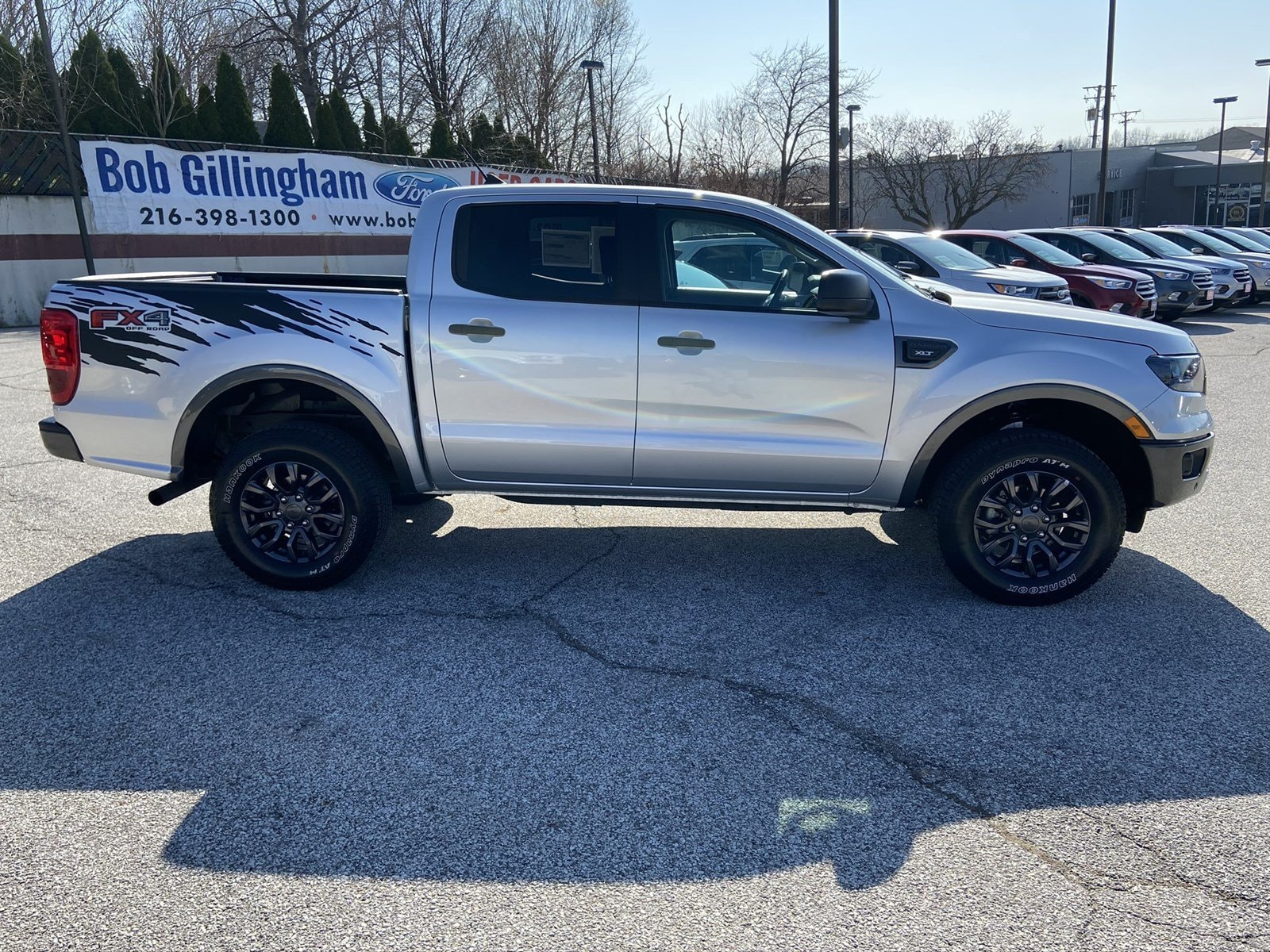 pre-owned silver ford ranger
