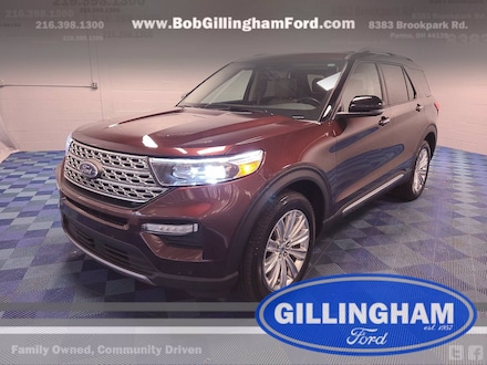 2020 Ford Explorer Limited 4X4 w/ Pano roof and Rear Seat Entertainme SUV