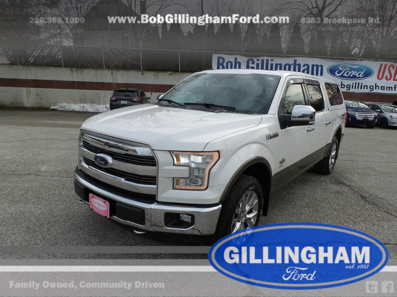 2015 Ford F-150 King Ranch 4WD Truck SuperCrew Cab