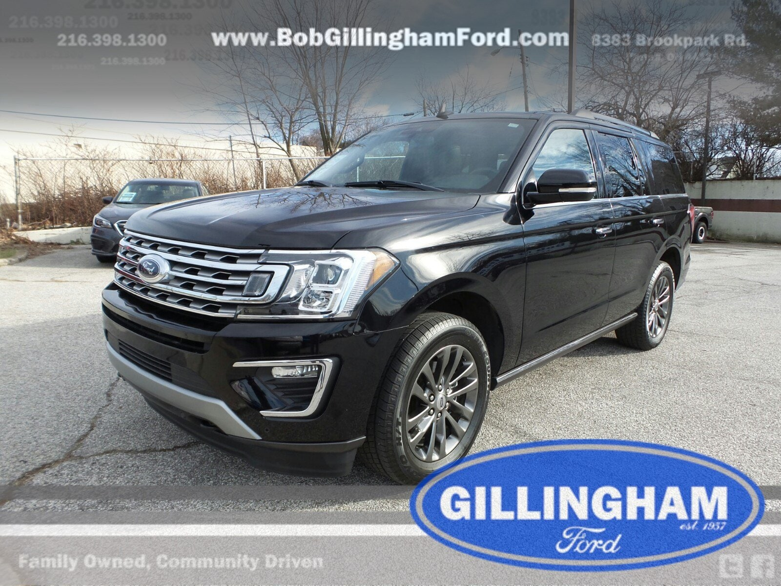 pre-owned black ford expedition