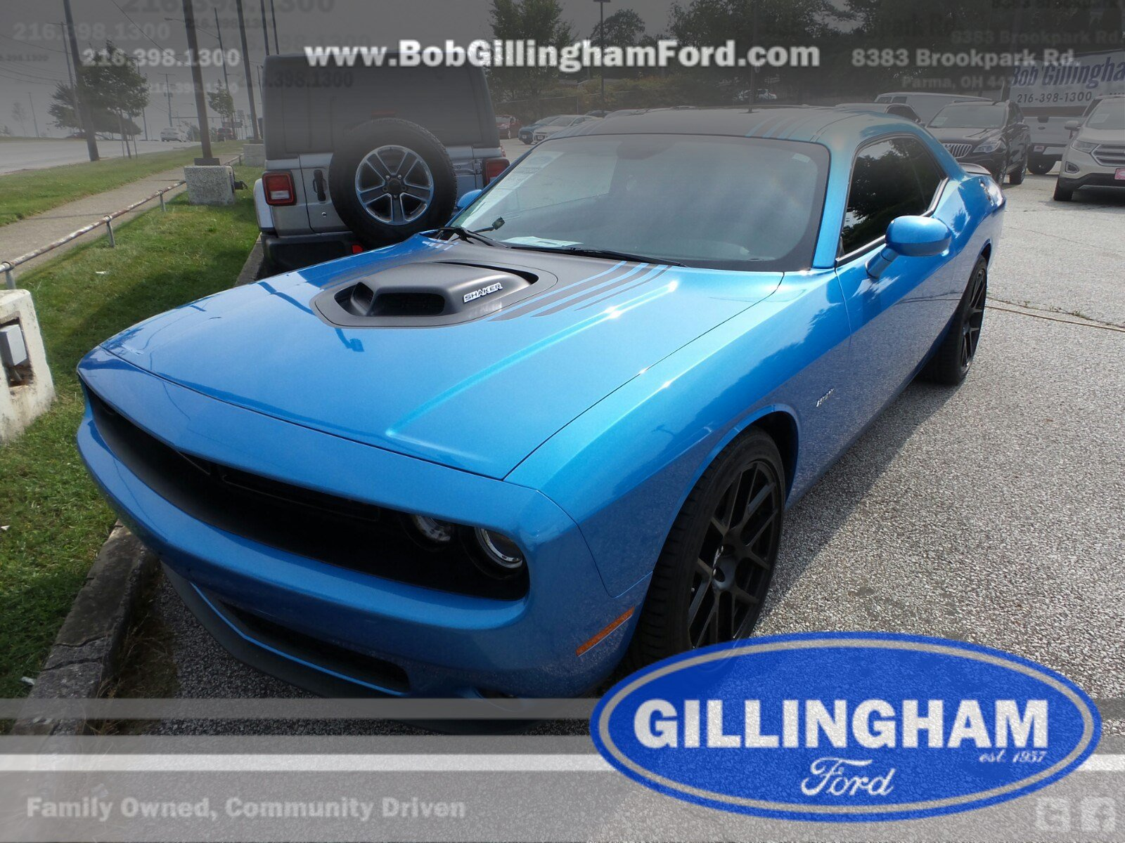 2015 Dodge Challenger R/T Shaker Coupe