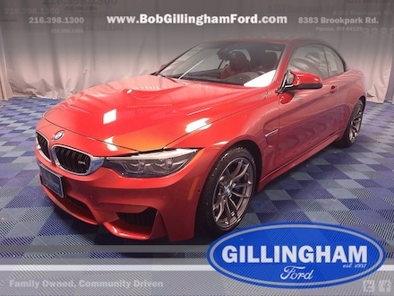 2018 BMW M4 Convertible with ONLY 7,933 miles!!! Convertible