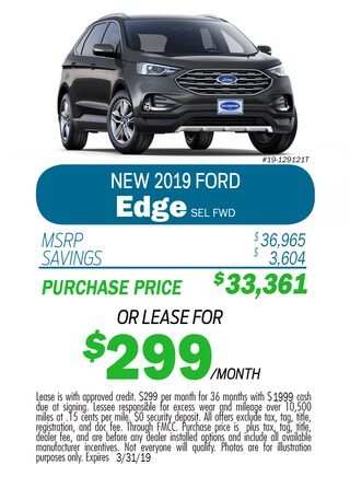 2019 Edge Monthly Special