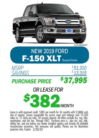 Monthly F-150 XLT Special