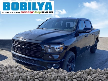 New 2021 Ram 1500 BIG HORN CREW CAB 4X4 5'7 BOX Crew Cab For Sale in Coldwater MI