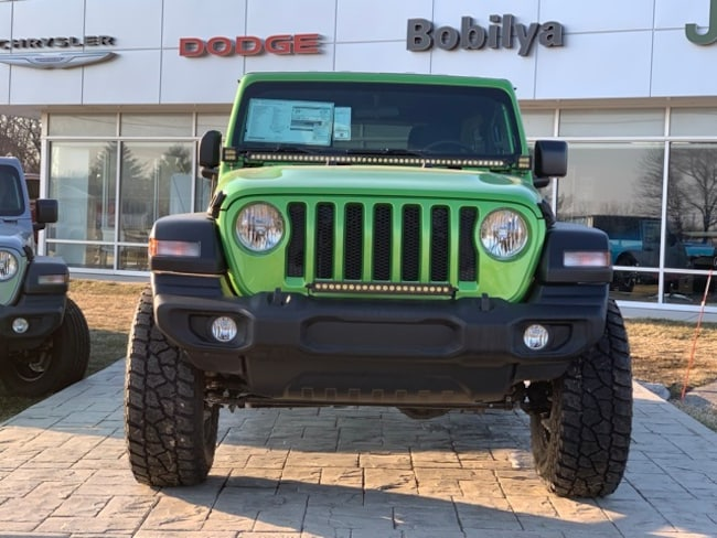 2019 Jeep Wrangler UNLIMITED SPORT S 4X4 For Sale in Coldwater MI