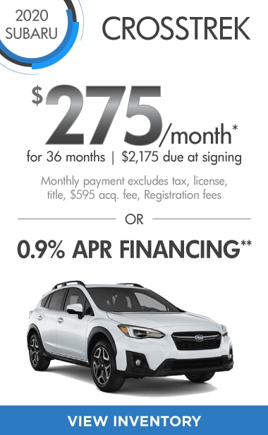 2020 Crosstrek Offer