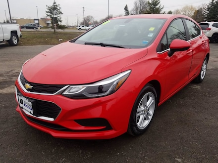 Featured Used 2018 Chevrolet Cruze LT HB 1.4L LT w/1SD for Sale near Hilton, NY