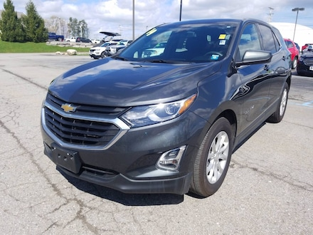Featured Used 2019 Chevrolet Equinox LT FWD  LT w/1LT for Sale near Hilton, NY