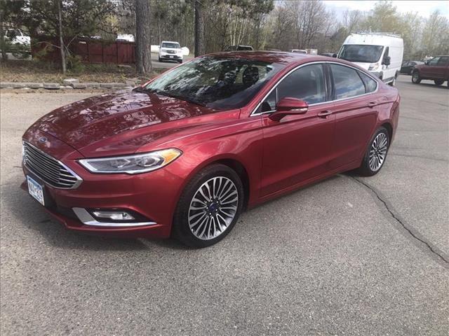 2017 Ford Fusion Titanium Front-wheel Drive Sedan