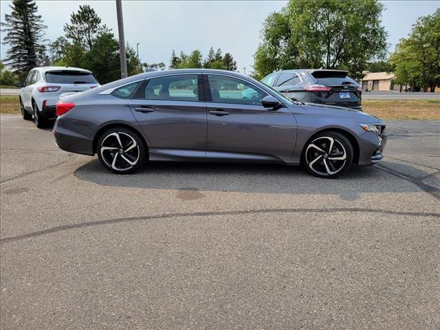 Used 2018 Honda Accord Sport with VIN 1HGCV1F39JA011856 for sale in Bemidji, Minnesota