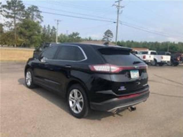 Used 2018 Ford Edge Titanium with VIN 2FMPK3K89JBB87540 for sale in Bemidji, Minnesota