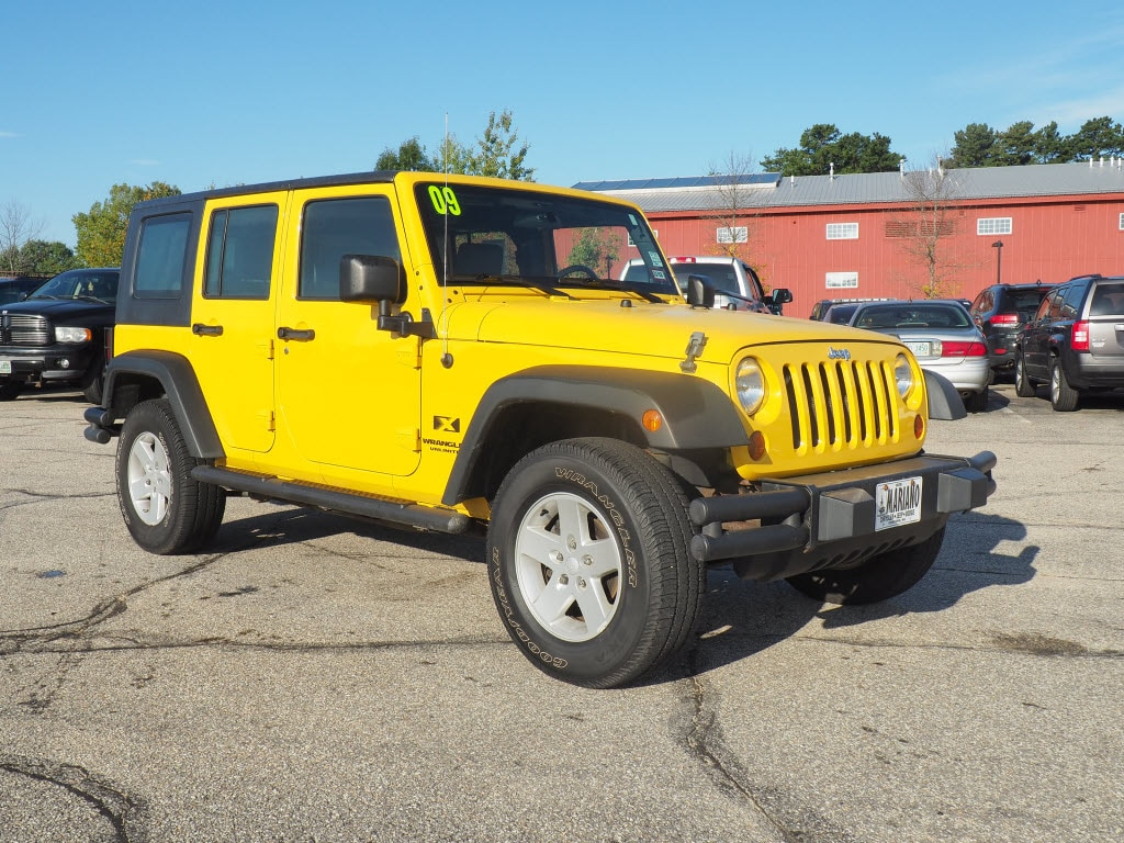 2009 Jeep Wrangler Unlimited X For Sale Near Manchester, NH  1J4GA39179L706882