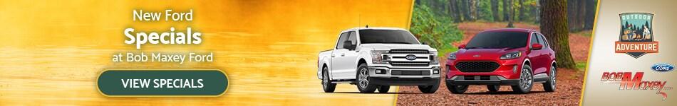 New Ford Specials - September 2020