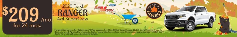 2020 Ford Ranger - October 2020