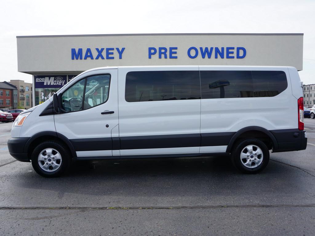 2018 Ford Transit Passenger 350 XLT 350 XLT  LWB Low Roof Passenger Van w/Sliding Pass