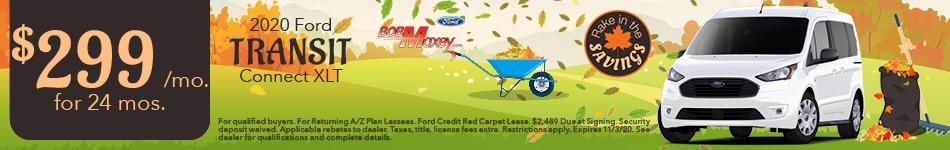 2020 Ford Transit - October 2020