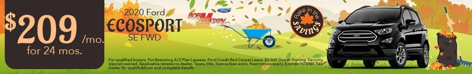 2020 Ford EcoSport - October 2020