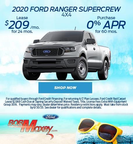 2020 Ford Ranger - June 2020