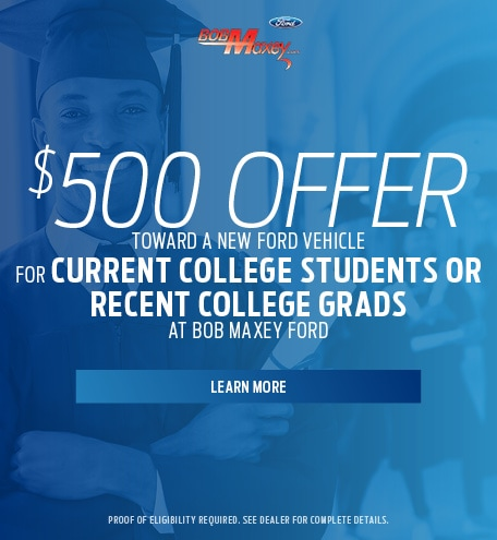 $500 Offer - Current College Students or Recent College Grads