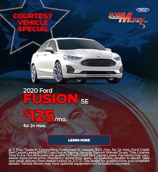 2020 Ford Fusion SE - Courtesy Vehicle Special - February 2021