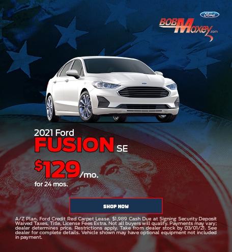 2021 Ford Fusion - February 2021