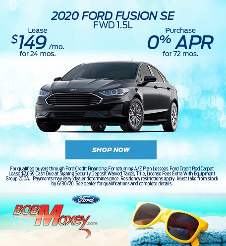 2020 Ford Fusion - June 2020