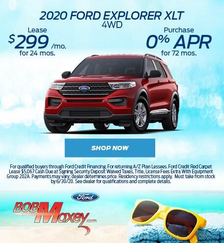 2020 Ford Explorer - June 2020