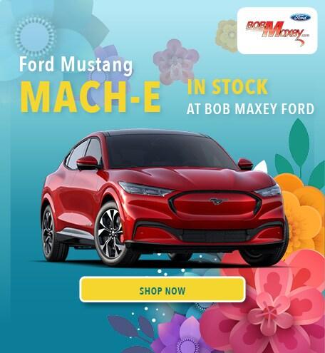 2021 Mach-E In Stock! - April 2021