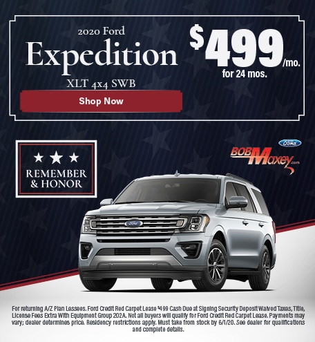 2020 Ford Expedition XLT Lease Offer