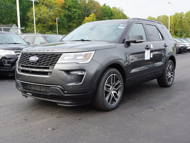2019 Ford Explorer Sport SUV for sale in Howell, MI