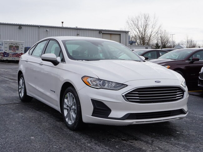 2019 Ford Fusion Hybrid SE Sedan for sale in Howell, MI