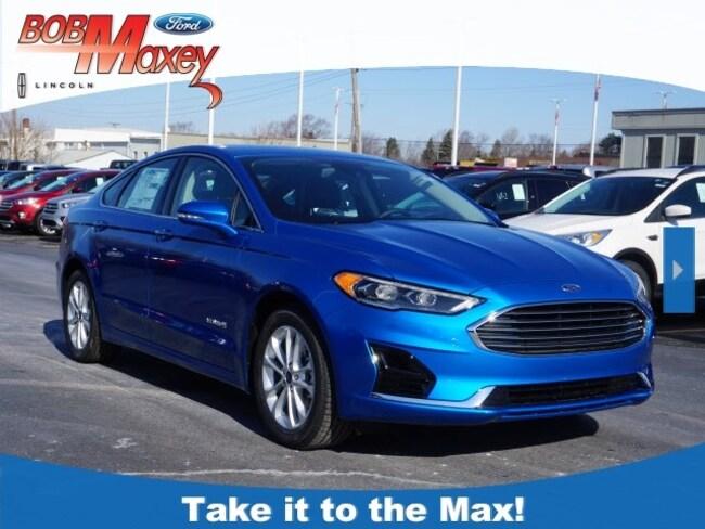 2019 Ford Fusion Hybrid SEL Sedan for sale in Detroit, MI