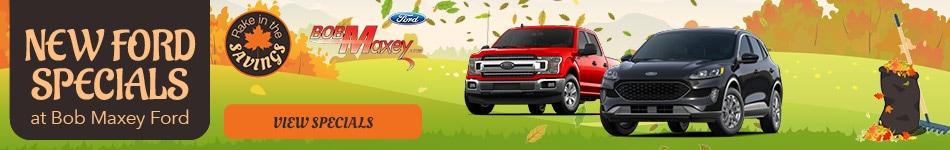New Ford Specials - October 2020