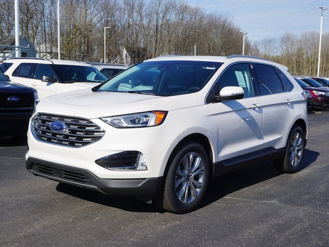 2019 Ford Edge Titanium Crossover for sale in Detroit, MI