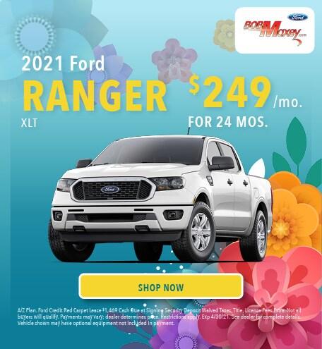 2021 Ford Ranger - April 2021