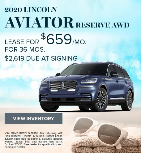2020 Lincoln Aviator AWD Reserve - March 2020