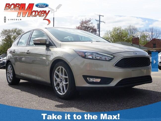 2015 Ford Focus SE Hatchback for sale in Detroit, MI