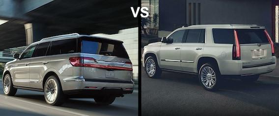 Lincoln Vs Cadillac >> 2019 Lincoln Navigator Vs Cadillac Escalade Bob Maxey Lincoln