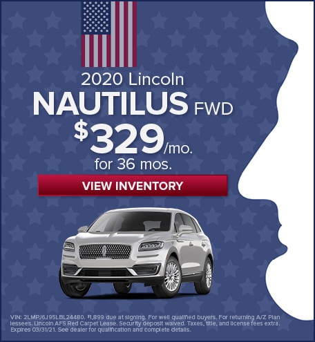 2020 Lincoln Nautilus - February 2021