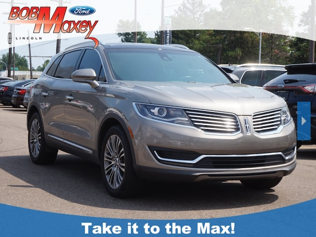 Used 2016 Lincoln MKX Reserve SUV for sale in Howell, MI