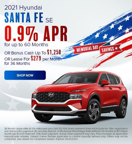May 2021 Santa Fe Special