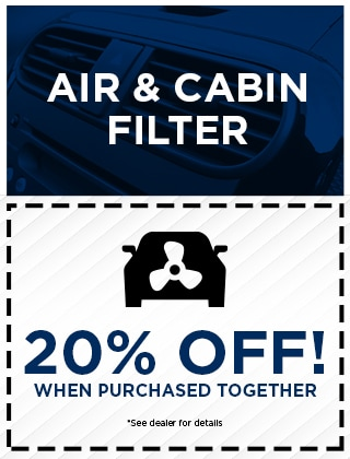 Air & Cabin Filter