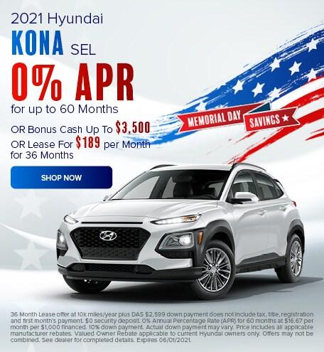 May 2021 Kona Special