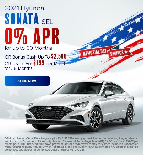 May 2021 Sonata Special