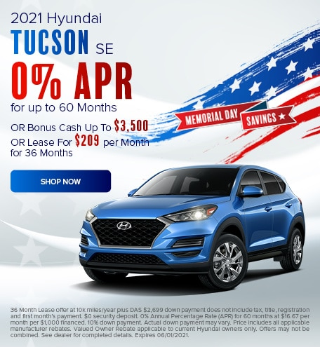 May 2021 Tucson Special