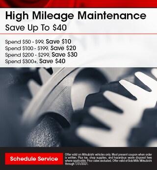 High Mileage Maintenance