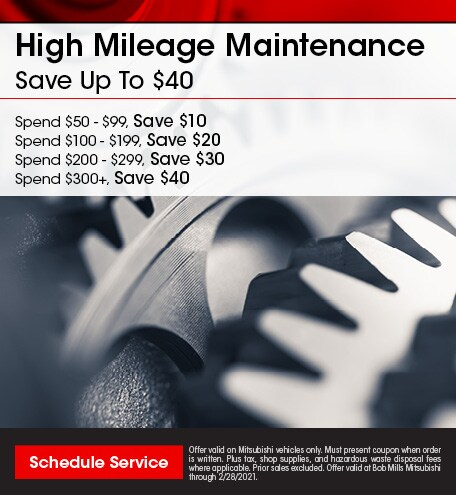 High Mileage Maintenance