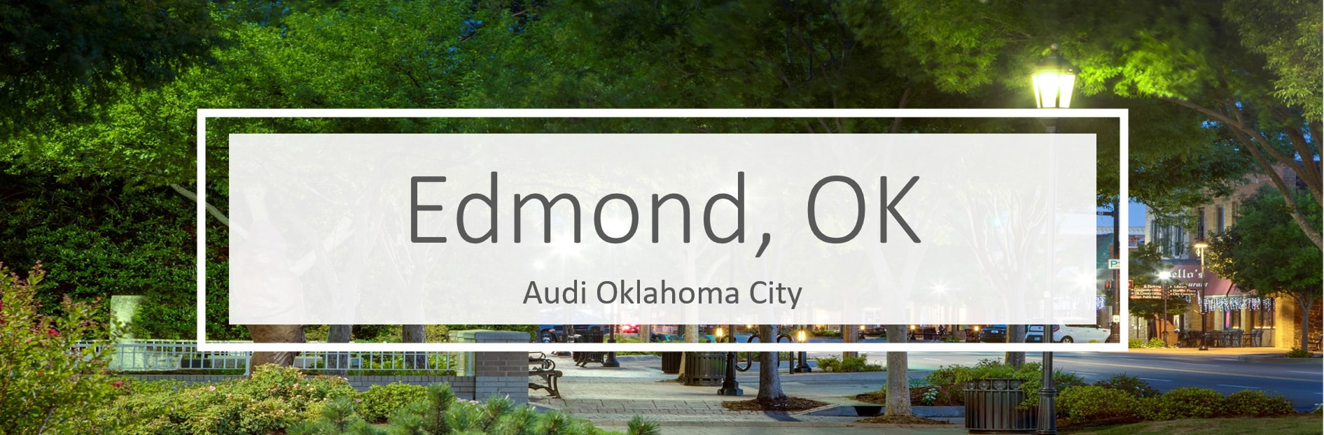 New Audi vehicles in Oklahoma City