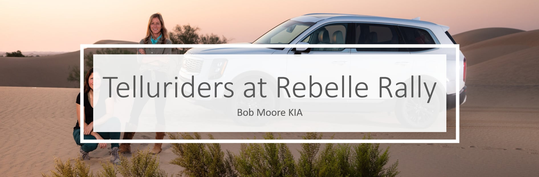 2020 Telluriders at Rebelle rally